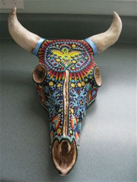 1000+ images about cowskull painting, my new hobbie on