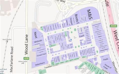 westfield white city floor plan westfield white city store map my blog