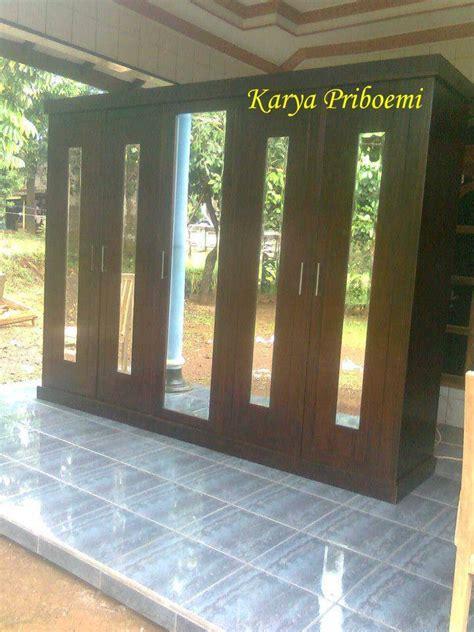 Harga Packing Kayu J T lemari pakaian minimalis lima pintu