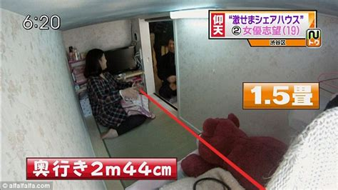 Japan Apartment Cost Living In A Box The Tiny Coffin Apartments Of Tokyo