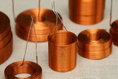 diy speaker inductors coils for diy loudspeakers