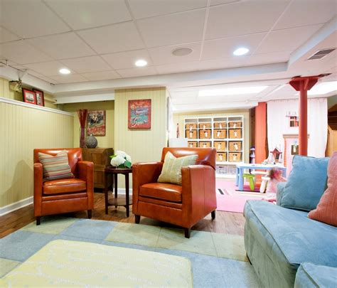 kids living room basement living room with kids play space great leather