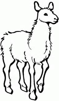 llama free printable coloring pages activities free printable farm quilt