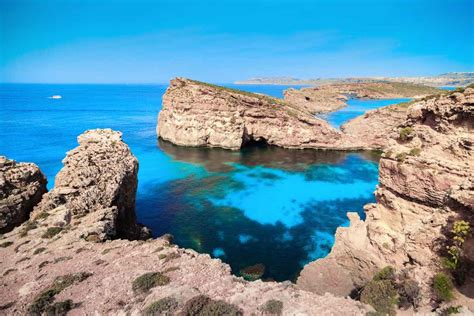 Azure Window Collapsed the maltese sister islands gozo amp comino diving