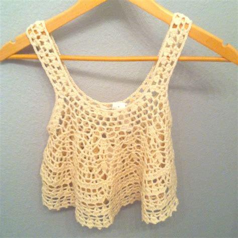 pattern crochet crop top cute crochet crop top halter styles new pattern ideas 5239