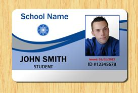Student Id Card Template by Student Id Template 2 Other Files Patterns And Templates