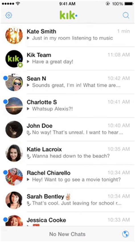 Kik Phone Number Lookup Kik Messenger App Gets New Screen Web Browser
