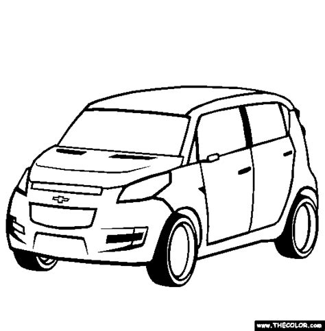 chevy coloring pages coloring home