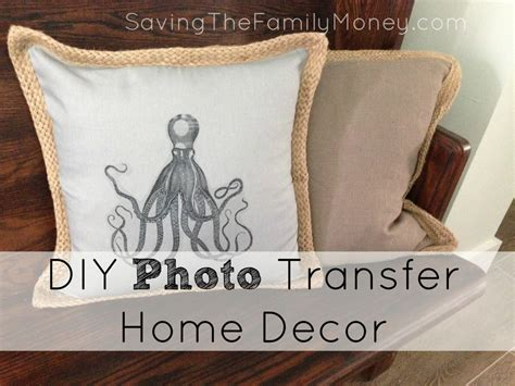 diy home decor gifts diy photo transfer home decor