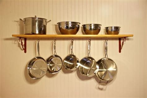Shelf To Hang Pots And Pans 13 Best Images About Hanging Pots And Pans On
