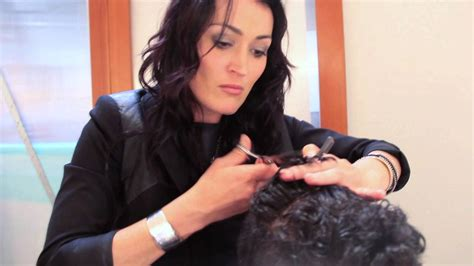 how to hair style for 35 yrs women step by step men s haircut cutting curly hair youtube