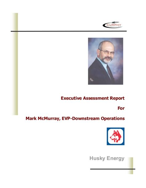 executive assessment report sle gordon executive