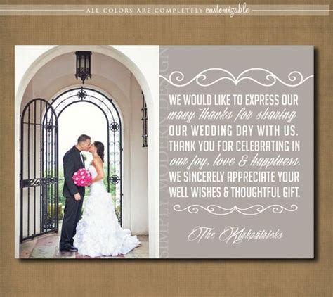 wedding thank you cards wedding thank you and thank you