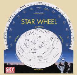 Learn how to make a star wheel and observe the night sky