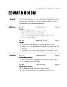 resume exles simple simple resume exles for