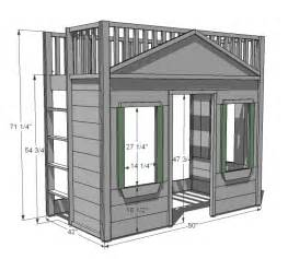 loft bed plans plans for built in loft bed 187 plansdownload