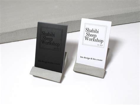 vertical business card holder desk concrete desktop business card holder vertical business