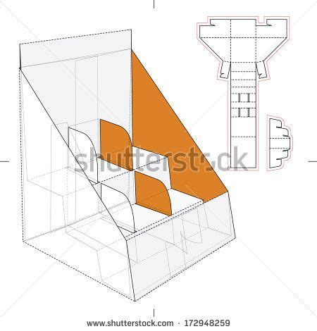 pop display templates product display and advertisement cardboard stand with