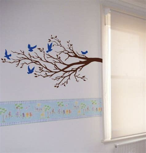 wall ideas design rect tree branches wall