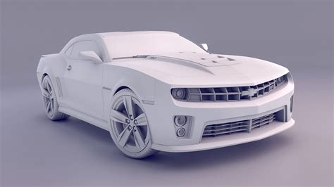 tutorial blender modeling car 2012 camaro zl1