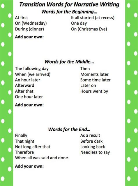 Transition Words For Writing Essays by Leach Teach Friday Freebie Transition Words For Staar Writing It Transition Words Are
