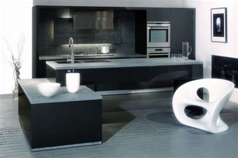Kitchen Designs Black And White by 30 Black And White Kitchen Design Ideas Digsdigs