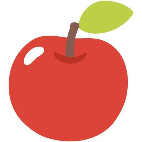 apple logo emoji file emoji u1f34e svg wiktionary
