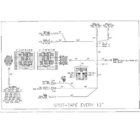 pontoon boat wiring harness diagram boat free
