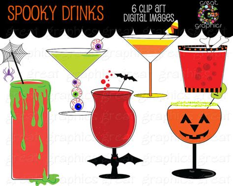 halloween drinks clipart halloween party clipart clipart suggest