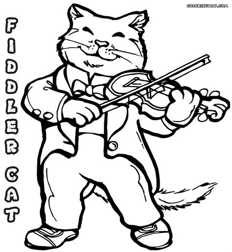 Coloring Page The violin coloring pages coloring pages to and print