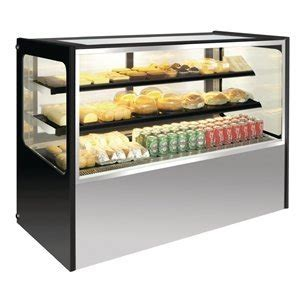 küchentheke heavy duty curved chilled food drinks cake deli display