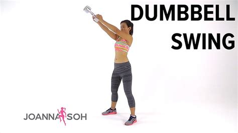 db swings dumbbell swing