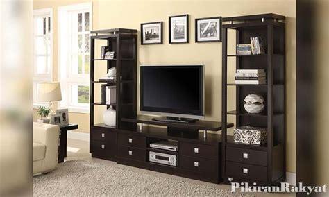 desain meja  rak tv  rumah minimalis pikiran