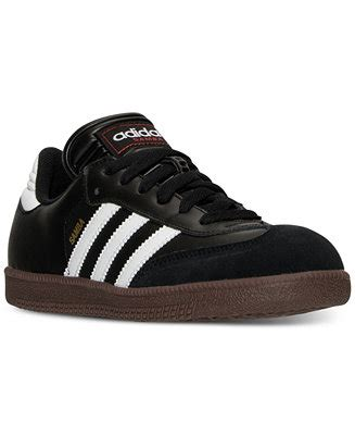 adidas big boys samba casual sneakers from finish line finish line athletic shoes macy s