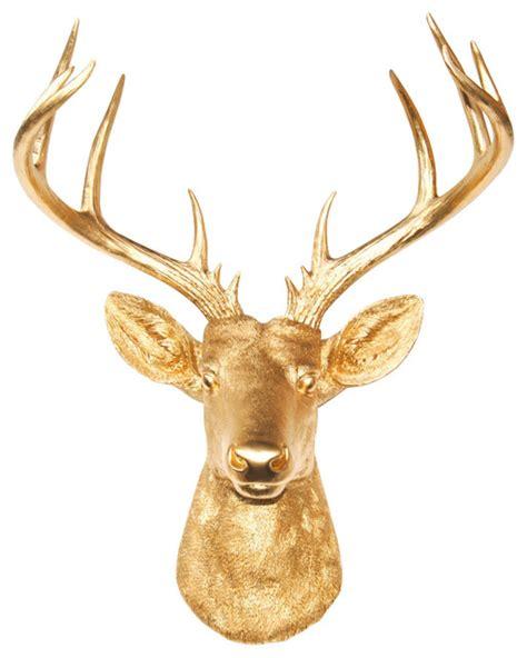 modern deer wall mount shop houzz near and deer deer wall mount 14 point