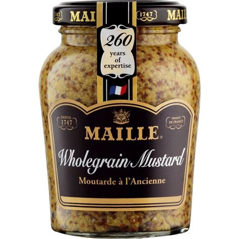 whole grains and ibs mustard whole grain maille 9 05 lbs buy at marky s
