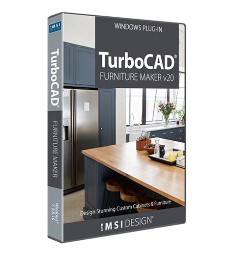 turbocad turbocad furniture maker