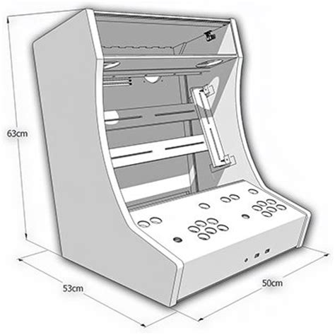 mame arcade cabinet kit bartop mame arcade cabinet plans cabinets matttroy