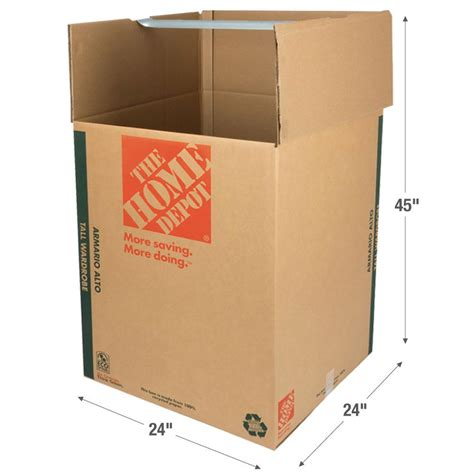 the home depot 24 in l x 24 in w x 45 in d heavy duty