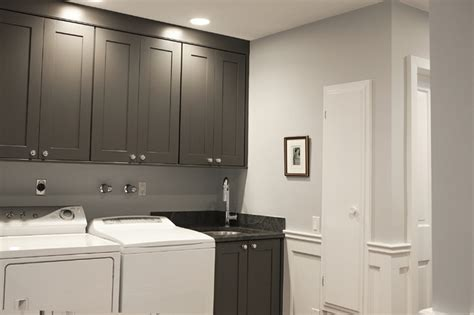 grey laundry room gray laundry room cabinets traditional laundry room debra kling colour consultant
