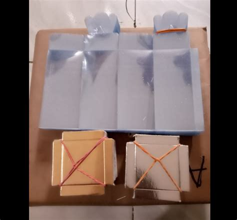 jual box souvenir uk 4 x 4 x 13 model kupu alas emas