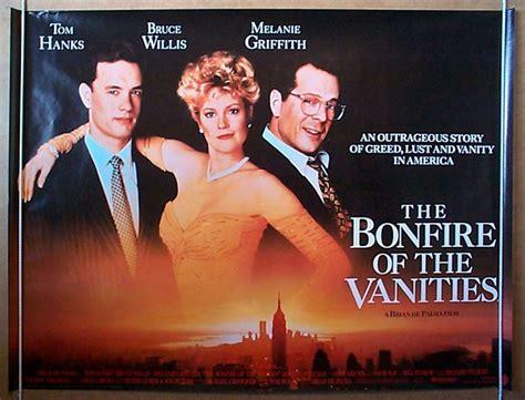bonfire of the vanities original cinema poster