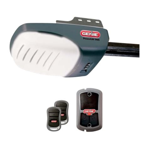 genie powerlift 900 garage door opener 37411v garage