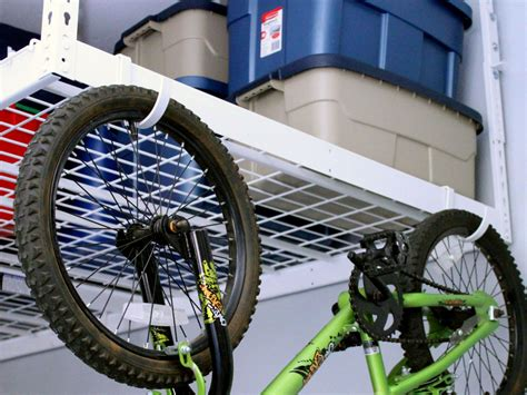 Bike Racks For Garage Ceiling by Garage Storage Hooks And Hangers Home Remodeling