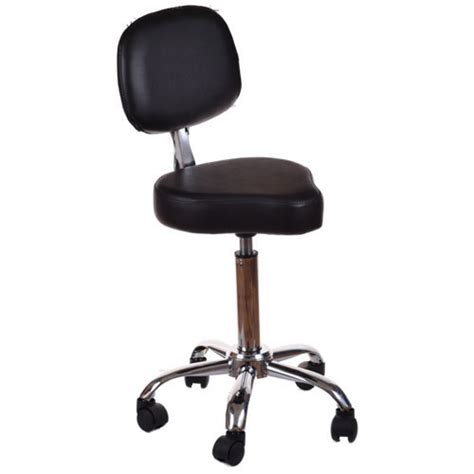Cutting Stool by Salon Equipment Salon Cutting Stool Black Back Buy