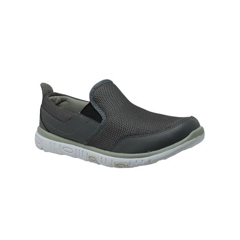 comfort stride shoes rocsoc men s comfort stride loafer gray