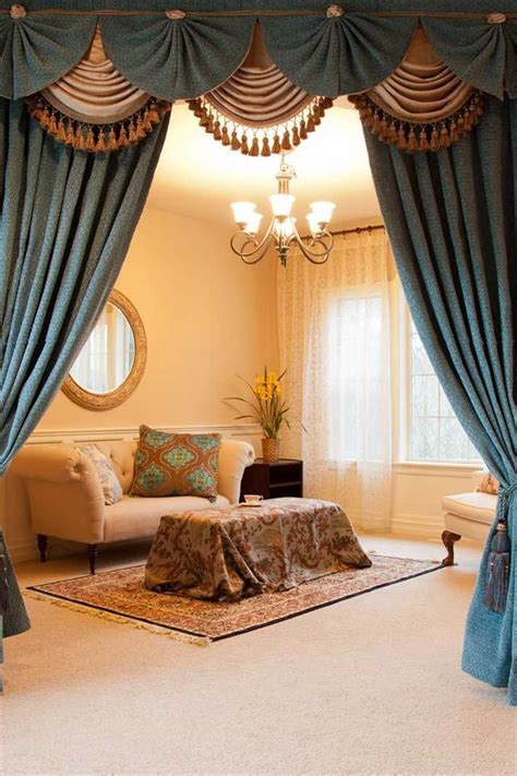 luxury swags  tails valance curtain drapes