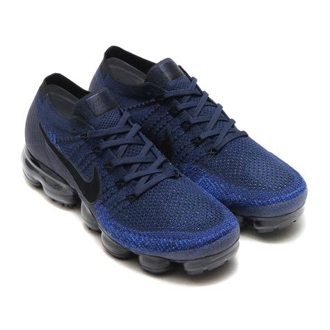 mens sneakers nike nike air vapormax flyknit college navy men s sneakers
