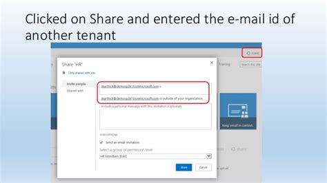 Office 365 Tenant Id Allowing Access From Office 365 Tenants Into A