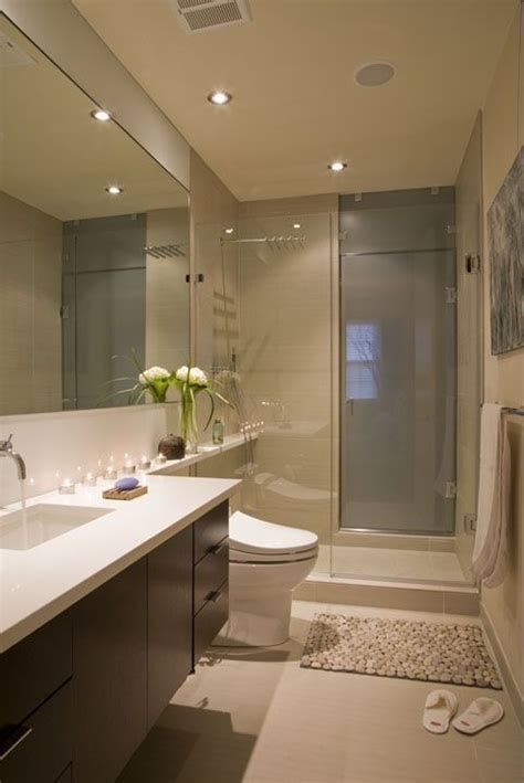 Modern European Bathroom Design Contemporary 3 4 Bathroom With Frameless Showerdoor By